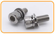 Inconel 601 Sems Screw
