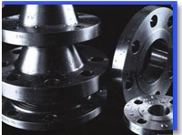 Carbon Steel Weld Neck Flanges at our Warehouse Mumbai,India
