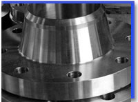 Carbon Steel WN Flange at our Warehouse Mumbai,India