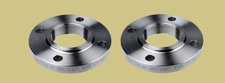 Threaded Flanges Manufacturers Exporter And Suppliers In India